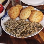 Glutenfri knækbrød og hyggebord