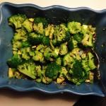Karbonader med broccolisalat