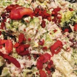 Traditionel broccolisalat