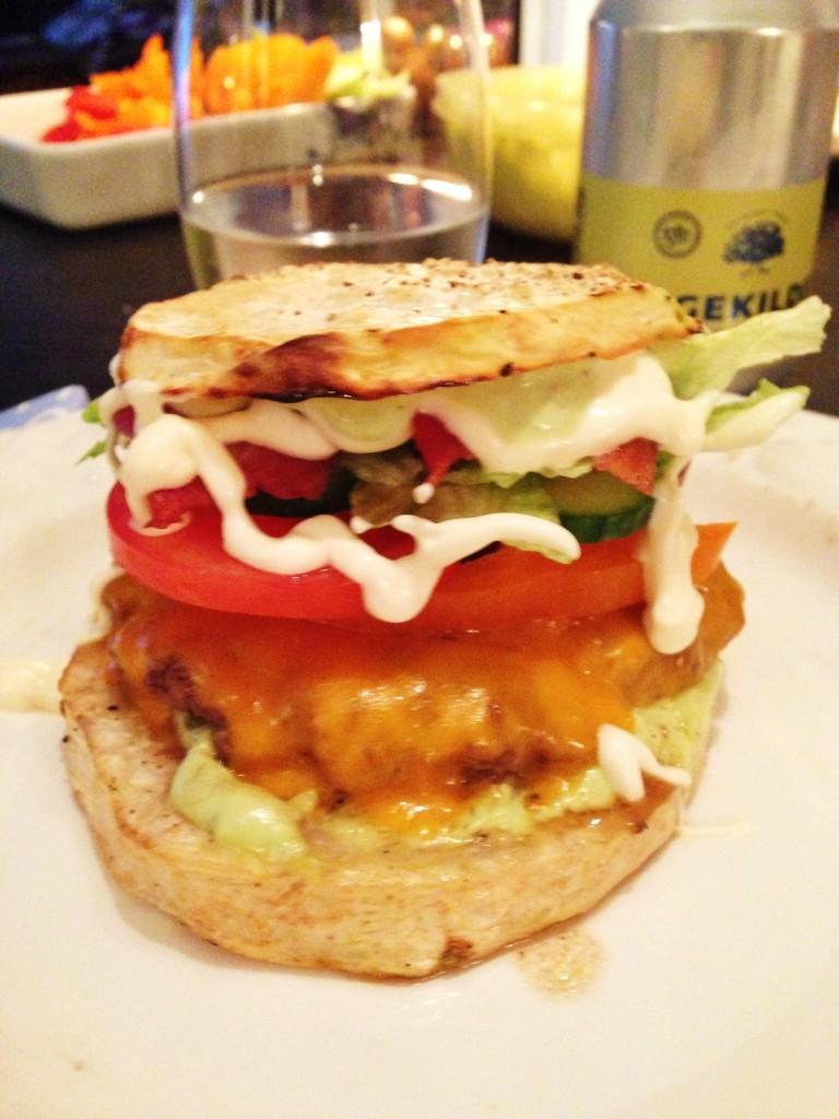 Glutenfri selleri burger