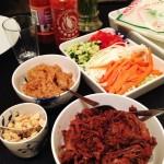 Vietnamesiske forårsruller med Pulled Beef