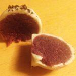 Marcipan med skovbær og Orangechokolade med marcipan