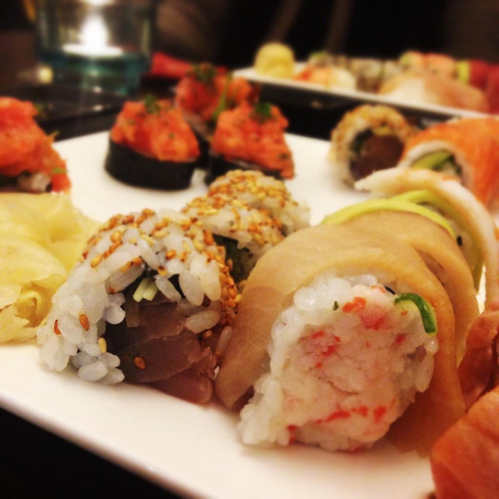 Glutenfri Sushi