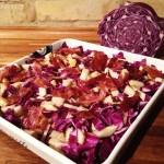 Vintersalat og Pulled Beef
