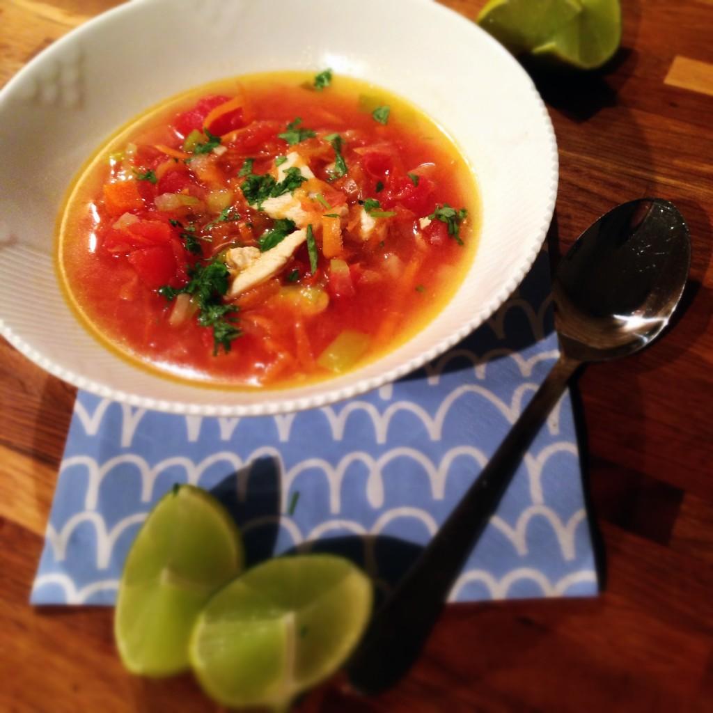 Glutenfri lime suppe