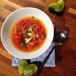 Kylling & lime suppe