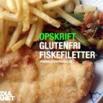 Glutenfri fiskefillet
