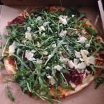 Glutenfri pizza på Rosticceria i Odense