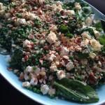 Mørbrad med frisk quinoa-salat