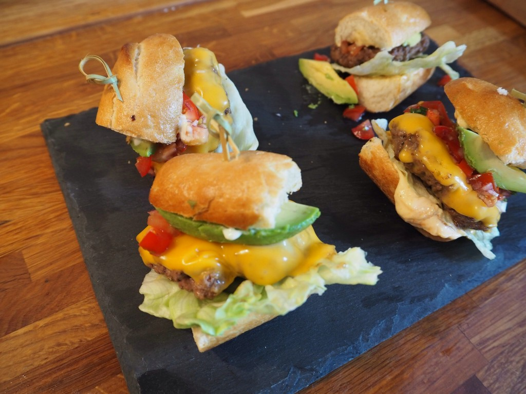 Glutenfri slider burger