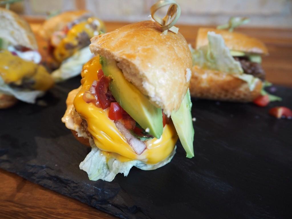 Sliders burgers