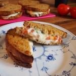 Grov mozzarella sandwich