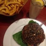Glutenfri burger på Cock's n' Cows i København