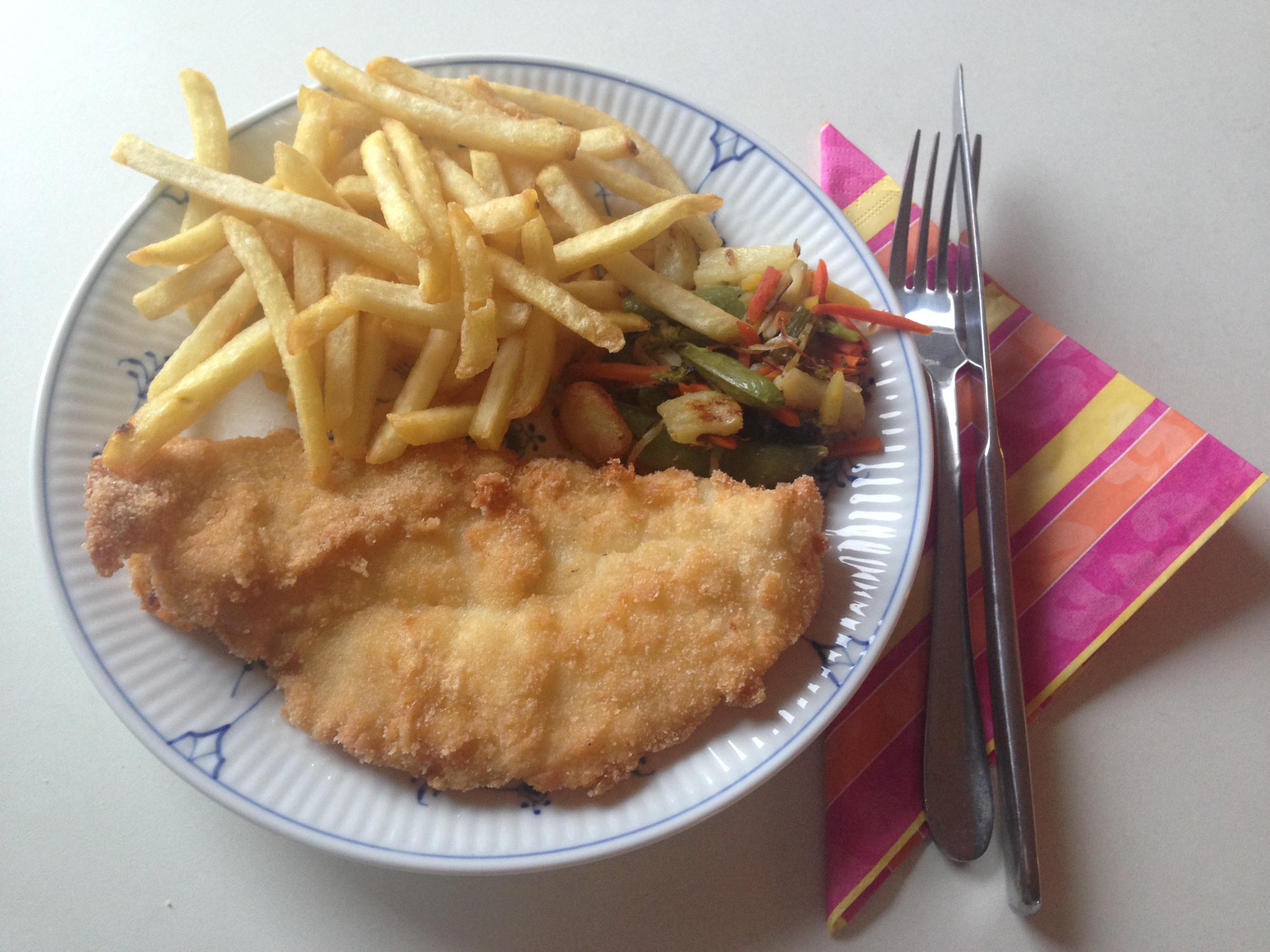 Glutenfri fiskefilet