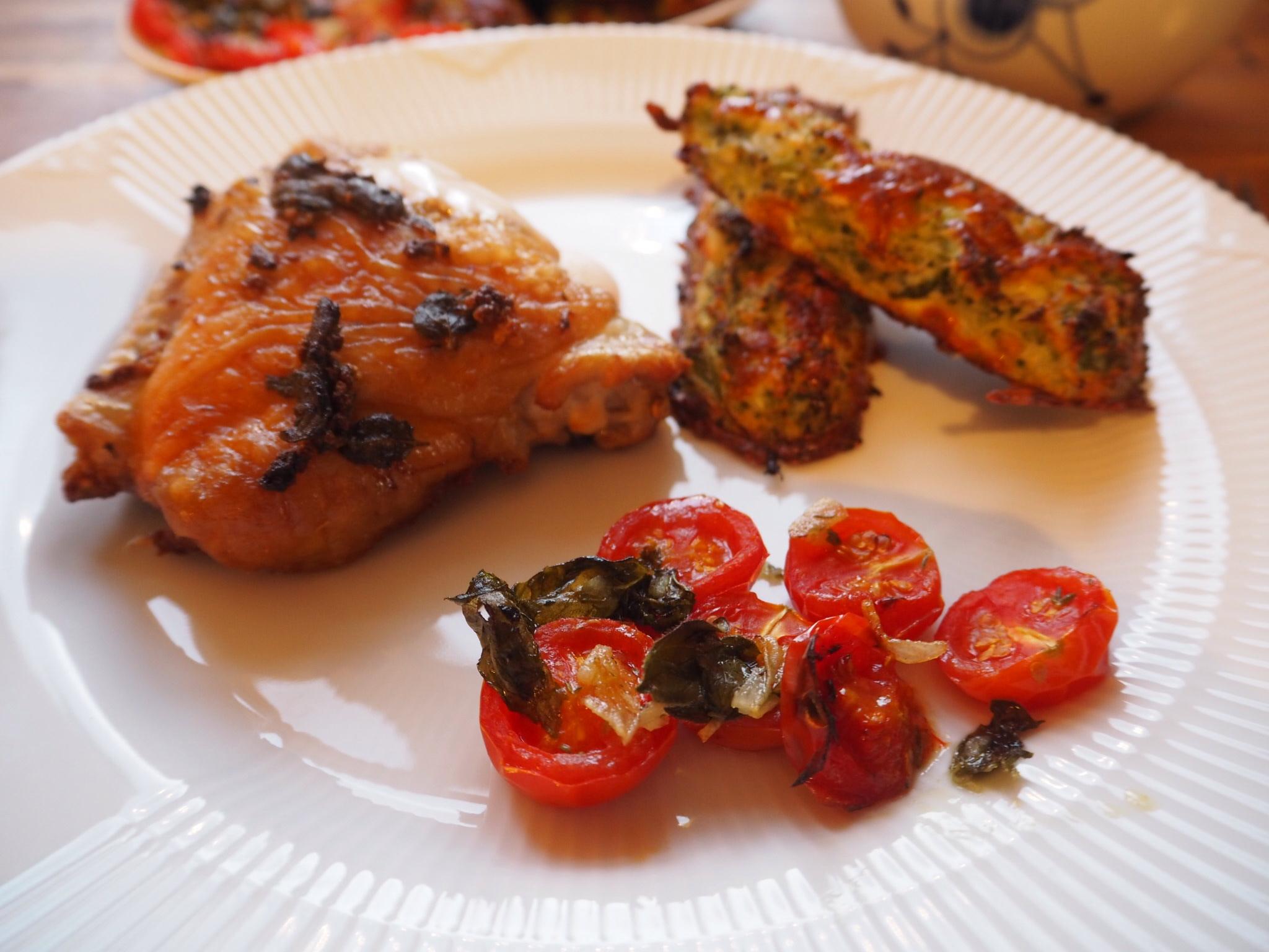 Kylling med Broccoli-bites
