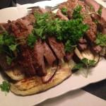 Glutenfri marinade – flanksteak på aubergine
