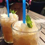 Is-te med pebermynte og citrongræs