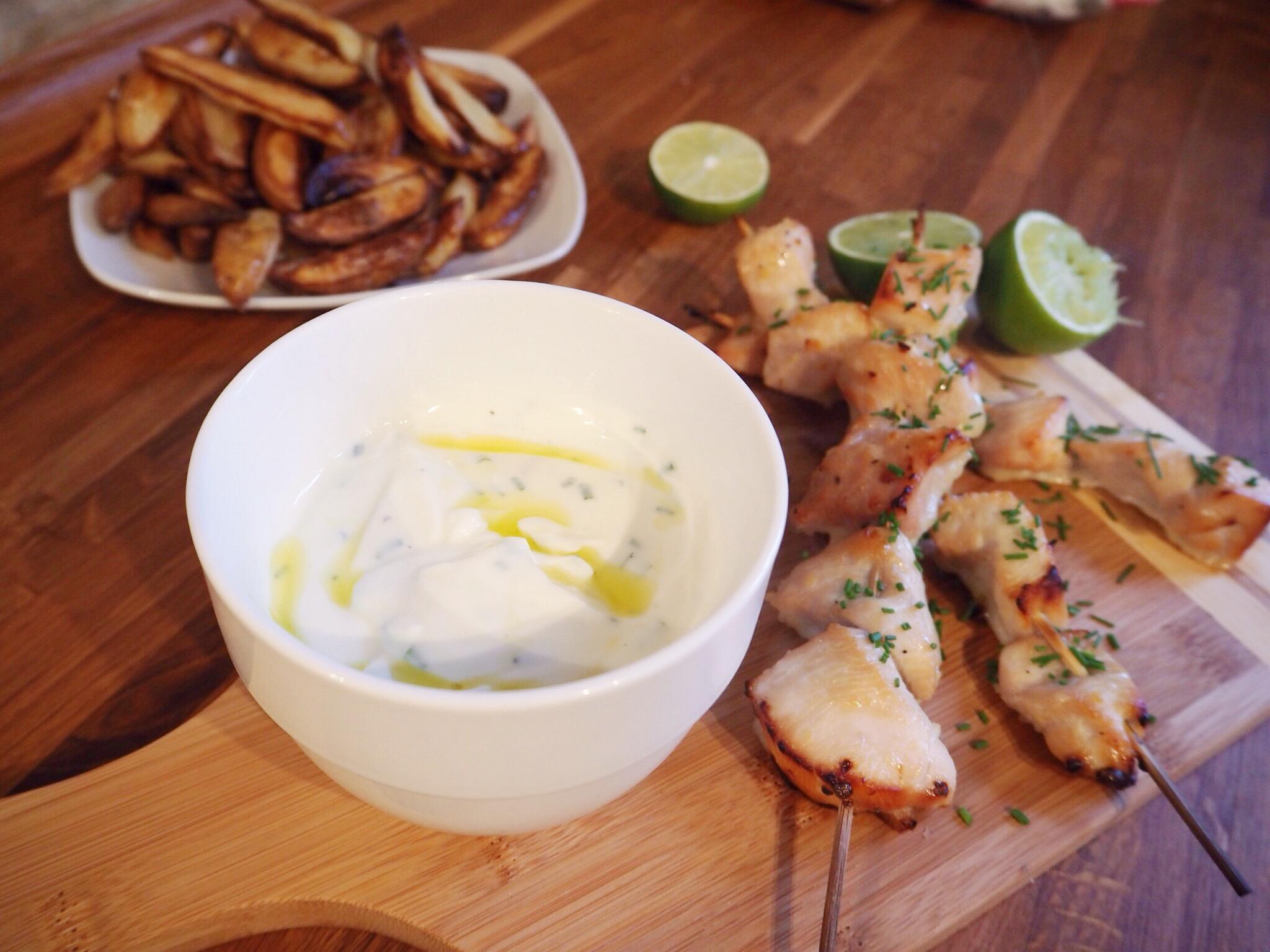 Chili-lime kylling med yoghurt mayo
