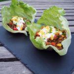 Glutenfri Taco Letuce til det gode sensommervejr