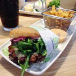 Glutenfri burger på Friends & Brgrs