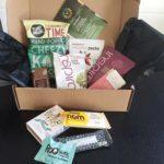 Glutenfrie snacks med posten