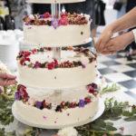 Opskriften på vores glutenfri bryllupskage