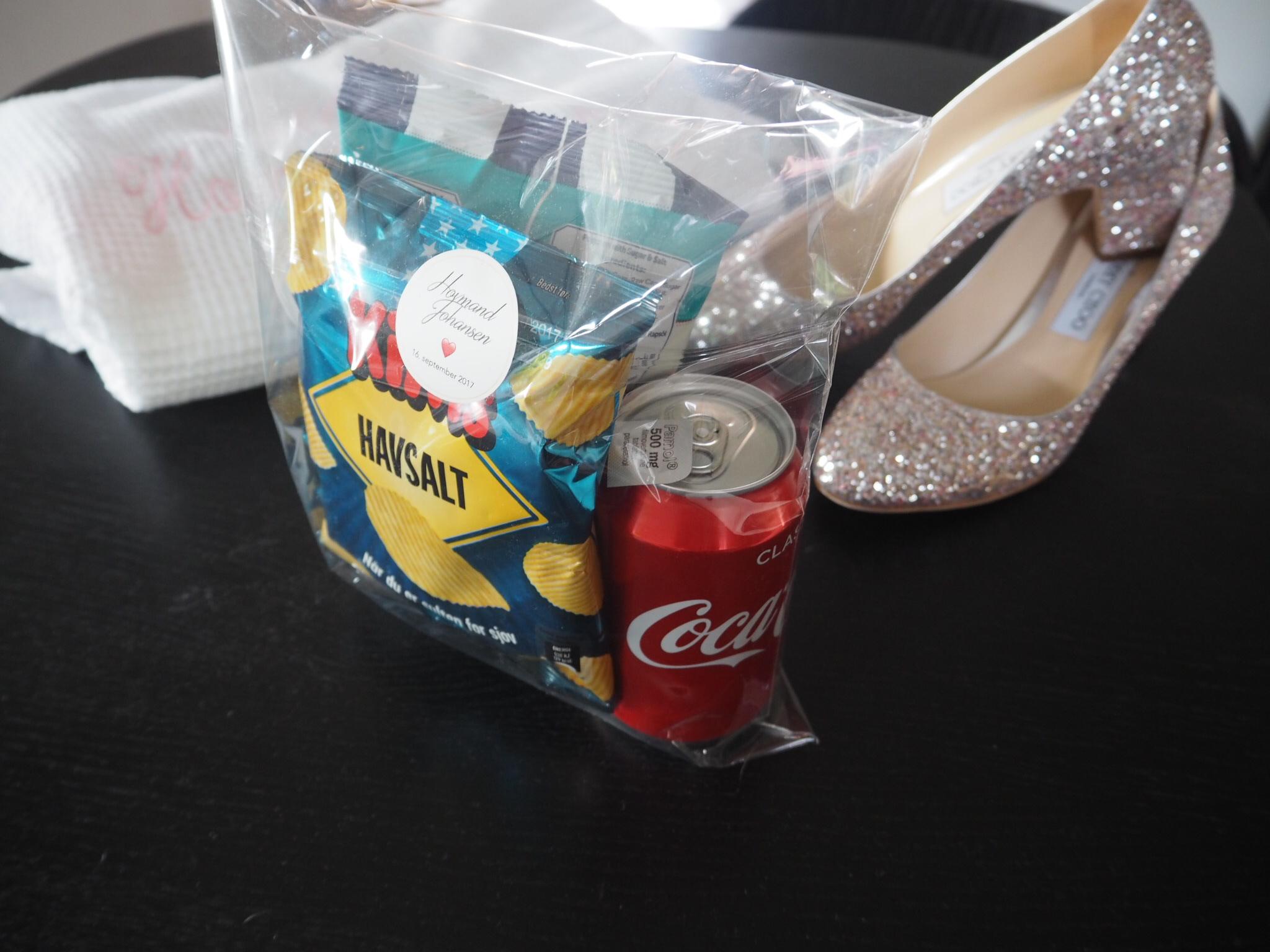 goodiebag til bryllup