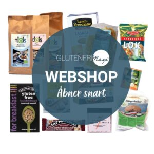 Glutenfrimagi webshop