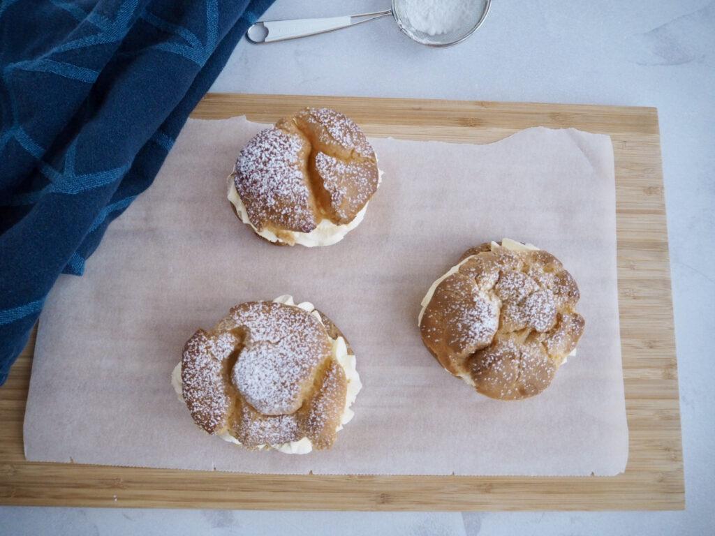 Glutenfri fastelavnsboller med vandbakkelser